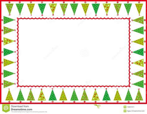 christmas tree border clipart clipart suggest
