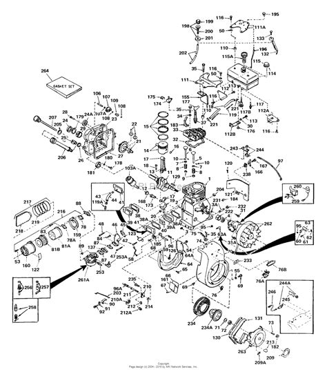 parts diagrams tecumseh ech90 146001 parts diagram for engine parts list 1