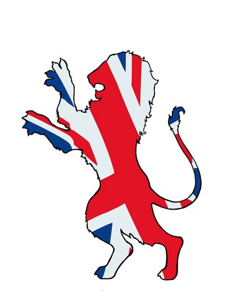 british lion paper art pinterest