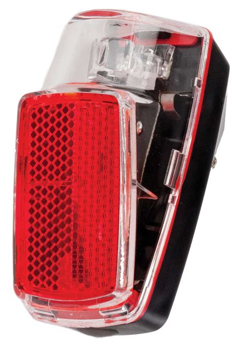 bike tail light axa run battery powered mudguard mount ebay