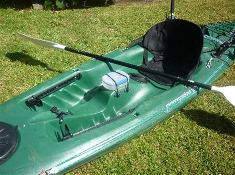 perception swing kayak rigged kayak photo s the fishing website discussion
