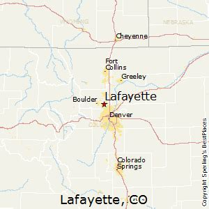 lafayette colorado map best places to live in lafayette colorado