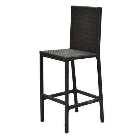 Rattan Patio Table And Chairs 3pcs Garden Patio Rattan Wicker Outdoor Dining Set Table And 2 Bar Stool Chairs Ebay