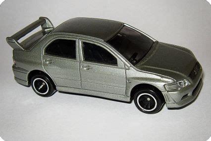 tomica mitsubishi mitsubishi lancer evolution vii model cars hobbydb