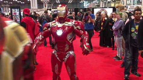 iron man cosplay nycc youtube
