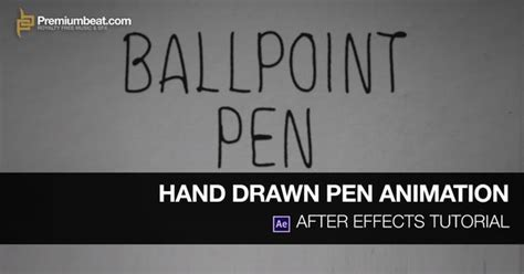 tutorial after effects handwriting learn how to create a hand drawn animation in this adobe