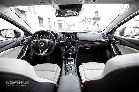 Mazda 6 White Interior by