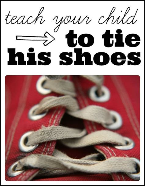 how to teach a kid to tie their shoes and shoes teach to tie shoes