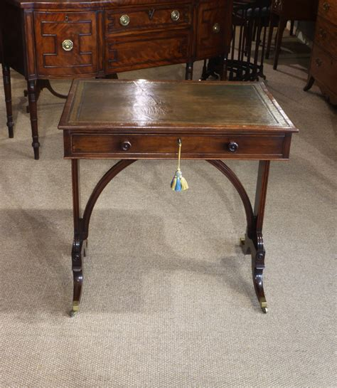 small antique library table small writing table small
