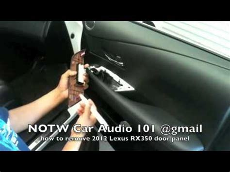 how to remove dash panel from a 2012 buick enclave how to remove 2012 lexus rx350 door panel youtube