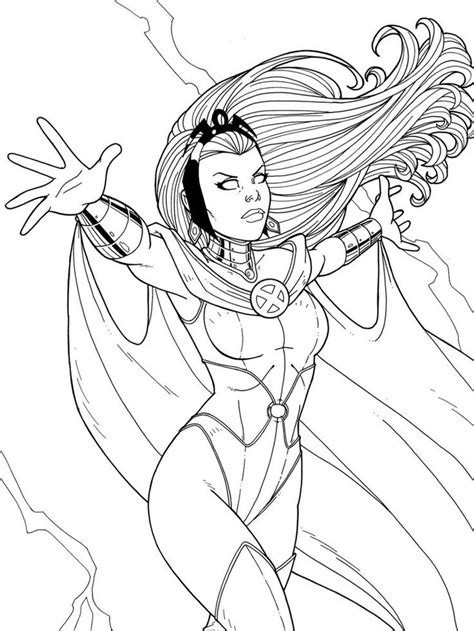 marvel storm coloring pages 17 best images about adult coloring pages on pinterest