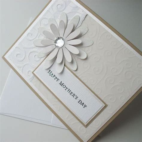 Simple Handmade Mothers Day Cards - wedding flower and wedding cards on