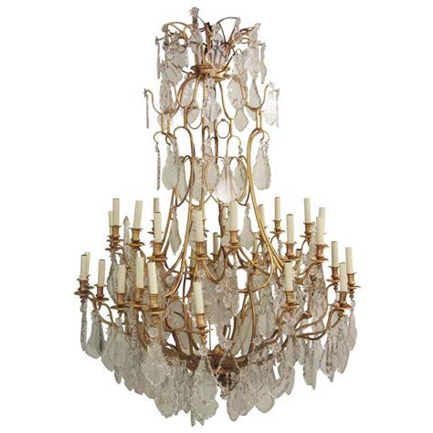 baccarat chandelier for sale baccarat gilt bronze chandelier for sale at 1stdibs