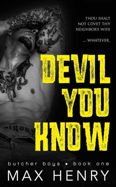 libro the devil you know devil you know by max henry paperback barnes noble 174