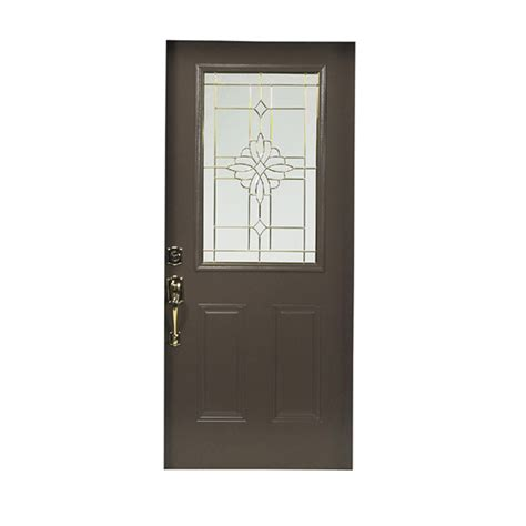Half Lite Exterior Door Shop Reliabilt 174 36 Quot Laurel Half Lite Steel Entry Door Unit At Lowes
