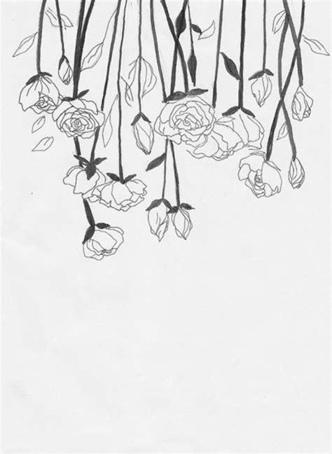 flower pattern drawing tumblr best 25 flower line drawings ideas on pinterest