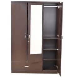 buy utsav three door wardrobe with mirror by hometown