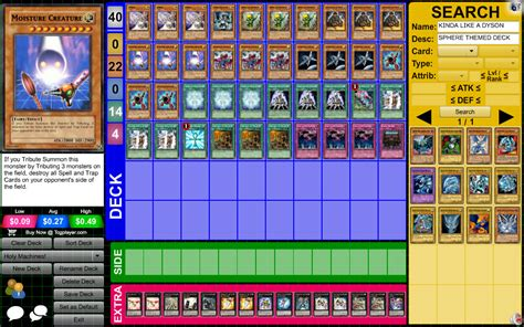 yugioh dyson sphere deck number 9 dyson sphere page 3 pojo forums