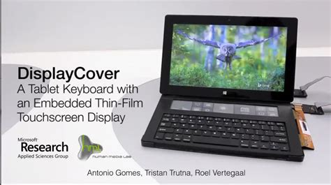 best e ink tablet displaycover microsoft zeigt surface tastatur mit e ink
