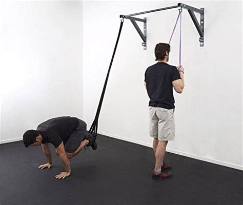 Pull Up Resistance Band Fitness energy fitness anchor pull up bar modular wall mount station for resistance bands and