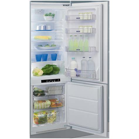 frigoriferi da whirlpool frigorifero combinato da incasso art880 a