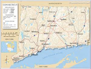 maps us map connecticut