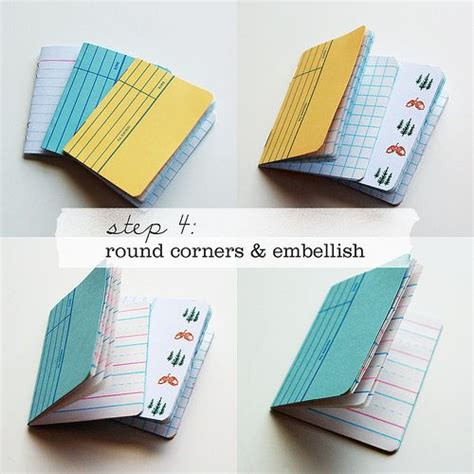 How To Make Notebooks Out Of Paper - how to make notebooks things my want to try
