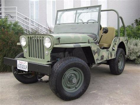 Classic Jeep Classifieds For Classic Willys Jeep 27 Available