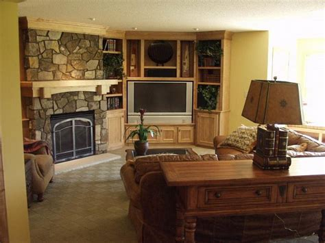 Living Room With Tv In The Corner Living Room Living Room Design With Corner Fireplace And