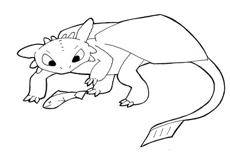 coloring pages of toothless dragon line art toothless and fish by sehirsch on deviantart