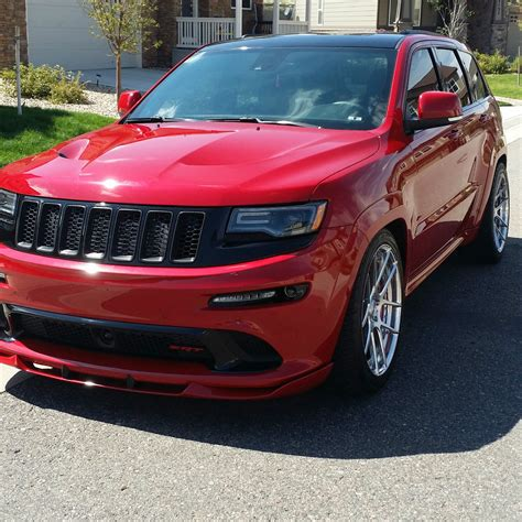 lowered jeep 2014 jeep grand cherokee srt sport utility 6 4l v8 hemi