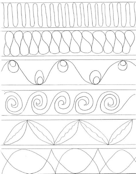 quilting templates for borders cabin quilting motifs for sashing border design