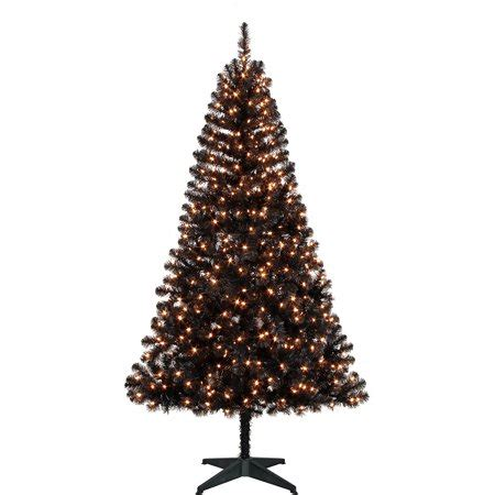 walmart canada four foot xmas trees time pre lit 6 5 tree black clear lights walmart