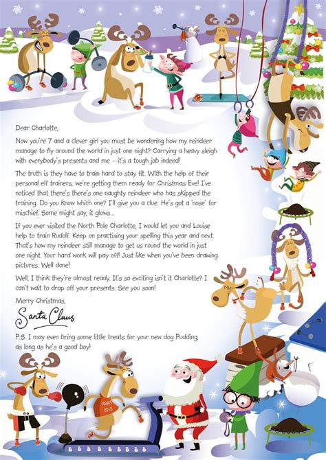 charity letter to santa the 33 best images about nspcc letter from santa on