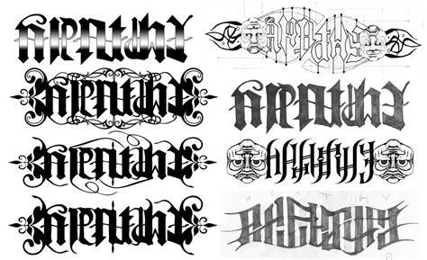 tattoo fonts karan ambigram name tattoos www pixshark images