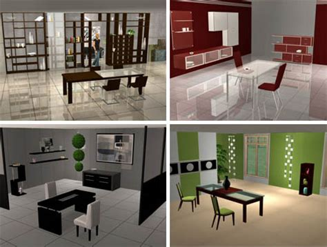 create a virtual room sims surpisingly elegant virtual reality dining rooms