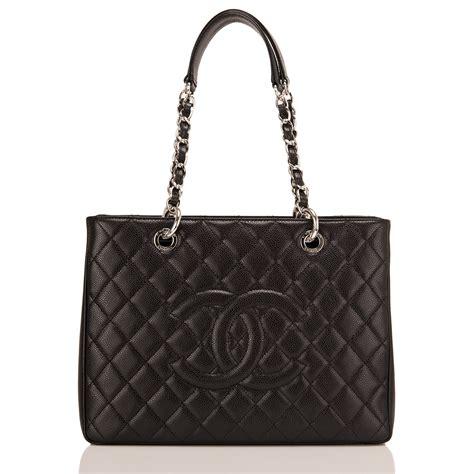 Sale Tas Chanel Gst Caviar chanel black caviar grand shopping tote gst world s best
