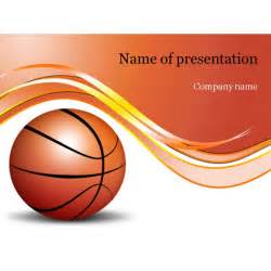 basketball powerpoint template background for