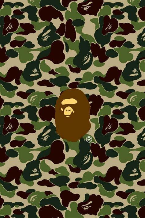 logo brands bape bape hintergrundbilder f 252 r iphone 4 patterns camo and bathing