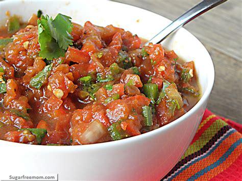 chunky or restaurant style salsa