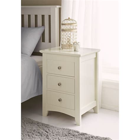 Bedside Drawers by B M 3 Drawer Bedside Cabinet 321896 B M