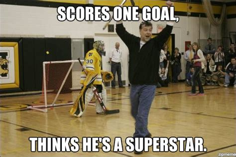 Hockey Meme Generator - hockey laughs the pink puck