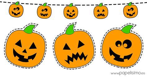 imagenes de calabazas de halloween para imprimir dibujos de calabazas de halloween para recortar papelisimo