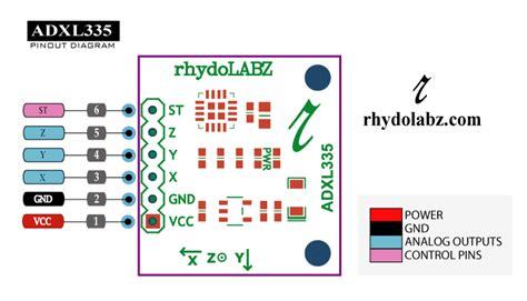 Accelerometer Pin Diagram