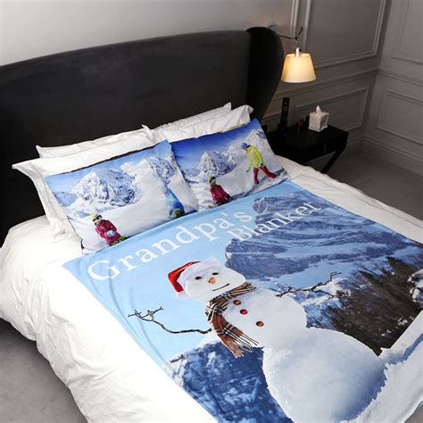 custom duvet covers with photos personalized duvet covers