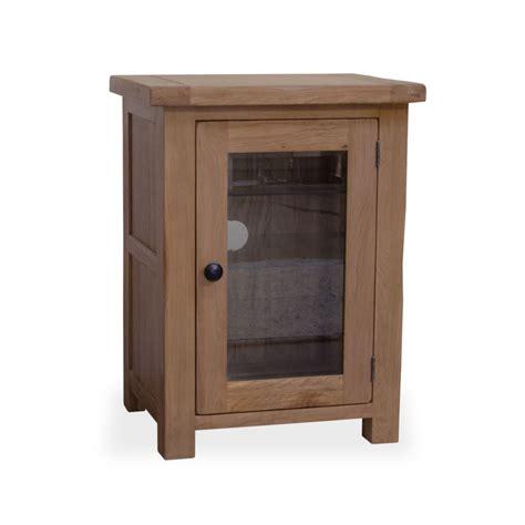 Original Rustic Solid Oak Furniture Hi Fi Stereo Cabinet Oak Hi Fi Cabinets With Glass Doors