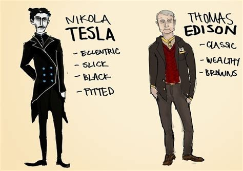 Edison Vs Tesla What Were The Differences Between Edison S