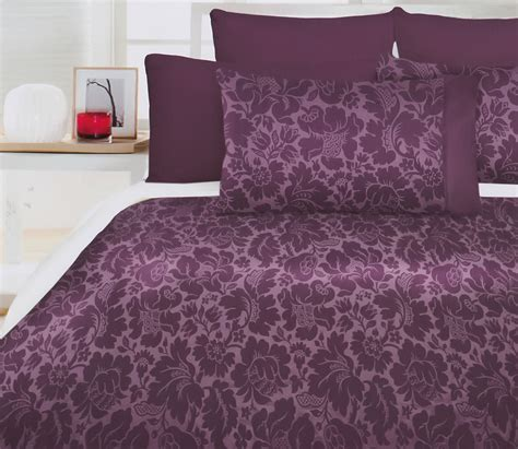 Purple Quilt Cover Sets by Chatsworth Purple Quilt Doona Duvet Cover Set Modern