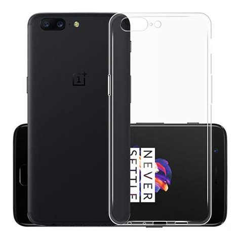 Anti Shock Transparan High Quality Back Soft Cover Murah transparent oneplus 5 high quality soft