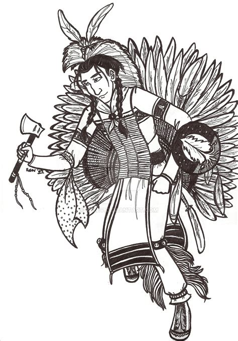 jingle dress coloring page jesse line art ojibwe pow wow by kelev on deviantart